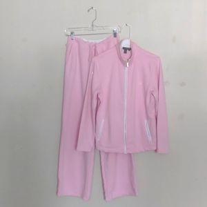 Vintage LAUREN by Ralph Lauren pink sweatsuit